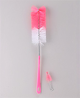 Morisons Baby Dreams - Long Handle Sparkle Cleaning Pink Brush	