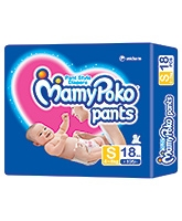 Mamy Poko Pants Pant Style Diapers Small - 18 Pieces