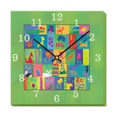 Mima Art - Animal Alphabet  Wall Clock