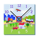 Mima Art Wall Clock - Things I See On The Road