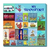 Transport - Wall Hanging Square