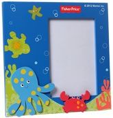 Buy Fisher Price Wooden Photo Frame - Sea Animals