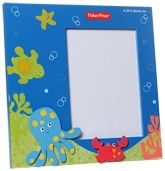 Fisher Price Wooden Photo Frame - Blue
