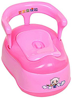Fab N Funky - Baby Potty Seat with Sheep Print