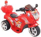Fab N Funky D2 Stars Red Battery Operated Bike - Red