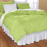 My Room Sage Double Bed Sheet With 2 Pillow Covers