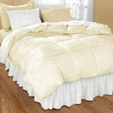 My Room Ivory Double Bed Sheet With 2 Pillow Covers