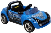 Fab N Funky - Blue Speed Freak Car