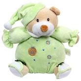 Carters Teddy Musical Soft Toy - Green