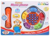 Fab N Funky Funny Music Phone - Orange