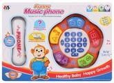 Fab N Funky Funny Music Phone - white