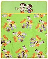 Vividha - Chhota Bheem Green Meadows Infant Quilt