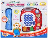 Fab N Funky Music Phone- Red