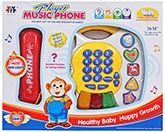 Fab N Funky Music Phone - White