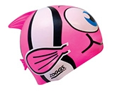 Zoggs Fish Design Silicon Cap - Pink