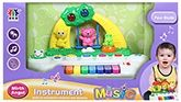 Fab N Funky Musical Keyboard - With Playing Animals