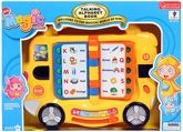 Fab N Funky Talking Alphabet Book - Bus