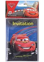 Disney Pixar Cars - Invitations with Envelopes Lightning MCqueen