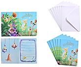 Disney Fairies - Invitation with Envelope