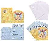 Winnie The Pooh - Birthday Invitations with Envelopes
