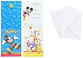 Mickey - Invitation Cards with Envelopes