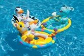 Intex See Me Sit Pool Rider Duck
