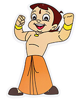 Chhota Bheem - Paper Cutouts