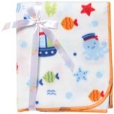 Mee Mee - Baby Blanket With Fish &amp; Star Print