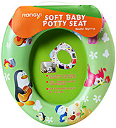 Soft Baby Potty Seat Green Potty Seat Ideal For Potty Training