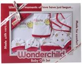 Wonderchild - Baby Gift Set Maroon