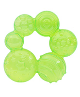 Water Filled Green Baby Teether 3 Months +, BPA Free, Water Filled Teether