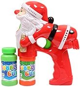 Fab N Funky - Flashing Bubble Gun Santa