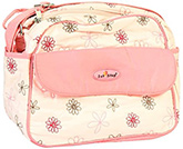 1st Step - Pink Floral Print Mother Bag