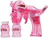Fab & Funky - Bubble Gun With Sea Lion Design Cute Pink