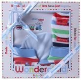Wonderchild - Baby Gift Set Fancy Striped