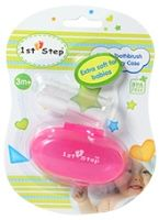 Buy 1st Step Finger Toothbrush With Carry Case - Pink