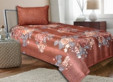 Salona Bichona - Single Bedsheet - 302B