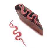 Redbug DIY Block Printing Kit - Snake Shaped Block