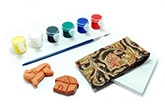 Redbug DIY Terracotta Fridge Magnet Set - Pet