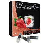 Steamlite 25 Black Cartomizers Strawberry Full Flavored