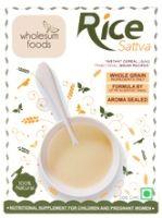 Buy Wholesum Foods - Rice Sattva 200 gm
