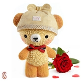 Aapnorajasthan Heart Touching Ceramic Teddy VT1320A