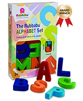 Rubbabu Natural Rubber Foam Magnetic Uppercase Alphabets - Large