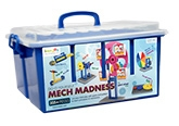 Iken Joy Mech Madness 6 Years +, 355 + pieces, Let your child play with ge...