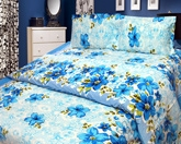 Cosmosgalaxy - Double Bedsheet With Pillow Covers - I1419