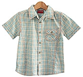 Beebay - Half Sleeves Cotton Checks Shirt