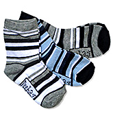 Beebay - Striped Printed Socks