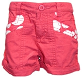 Trim Shorts With Polka Print 5 - 6 Years, Trendy Cotton Shorts With Bottom Turn U...