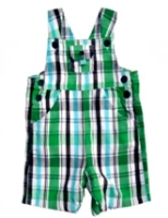 Beebay - Dungaree Printed Checks