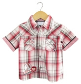 Buy Beebay - Check Shirt with Emroidery